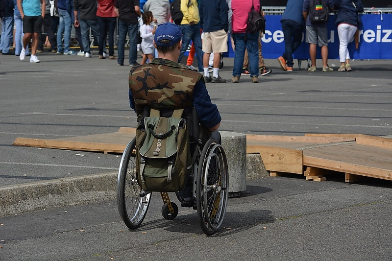 Mannen i rullestol