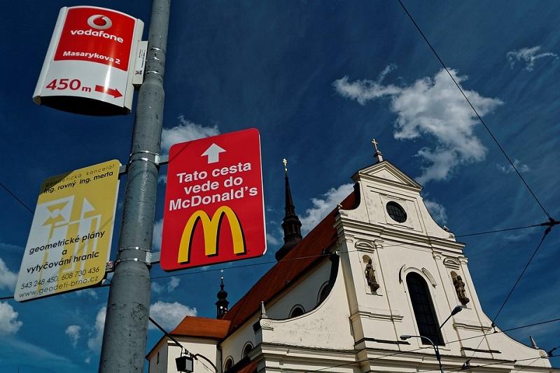 McDonalds skiltet