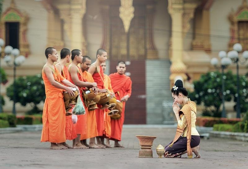 Buddhistiske munker